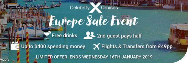 Europe Sale Event